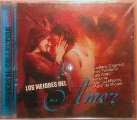 CD Musical Los mejores del Amor —— CBCO