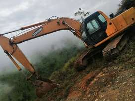 Se vende excavadora Samsung 210 año 98