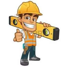 Busco trabajo de todo tipo de construcciones o areglos de casas