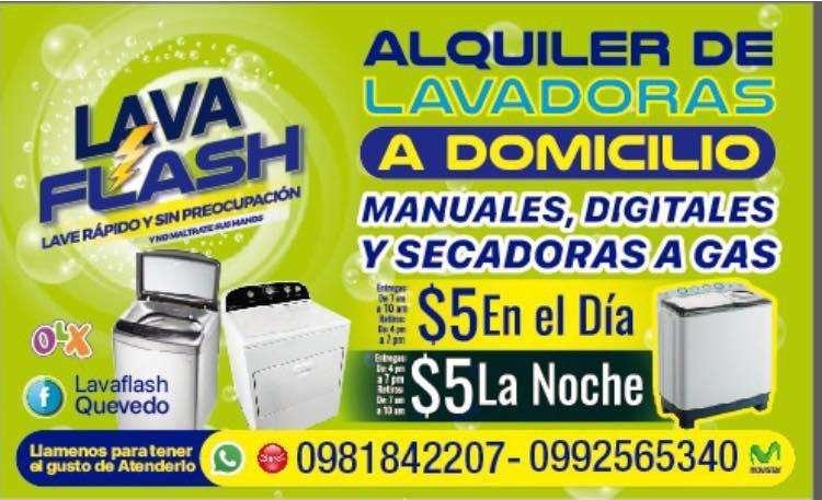Alquiler de Lavadoras a Domicilio Queved 0