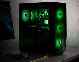 chasis corsair spec delta rgb con fuente real 650w case gaming pc gamer