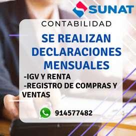 DECLRACIONES MENSUALES DE IMPUESTOS!!!