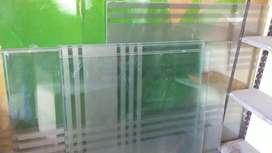 Vendo vidrios templados y comunes de 3mm, 5mm, 6mm y 10mm,