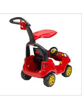 Carro Montable de Empujar Adventure Rojo 2-6 año Prinsel