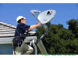 Técnico Instalador de televisión satélital e Internet