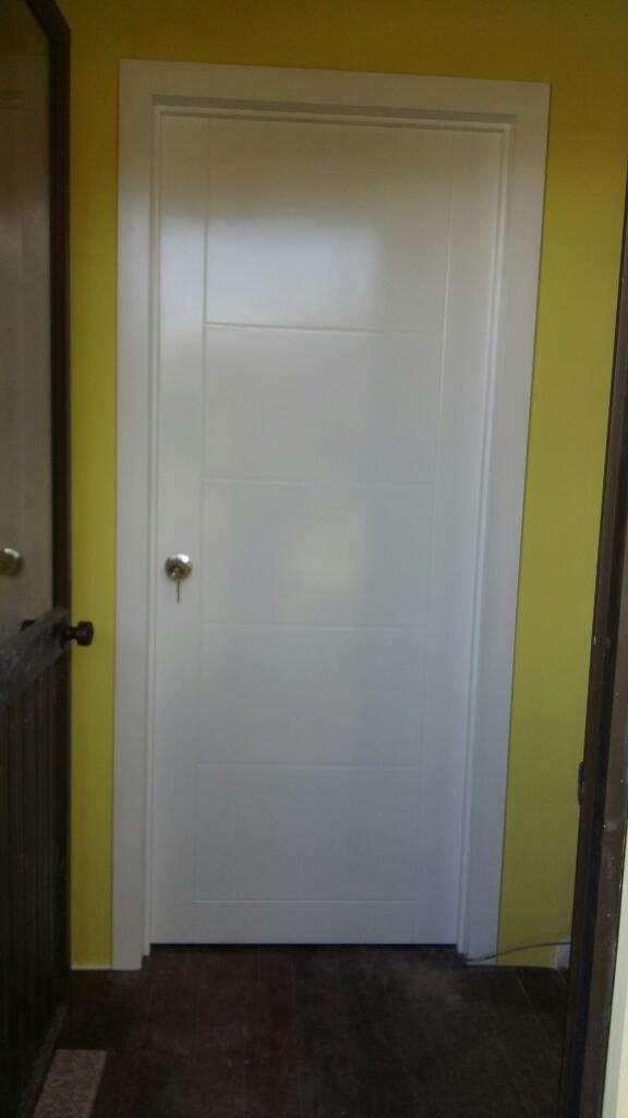 Puertas Tamboreadas Blancas 0