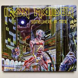 Iron Maiden - Sonewhere in time cd