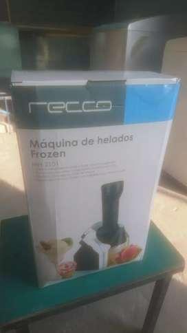 Vendo maquina de helados Frozen recco MH-2101 nuevo