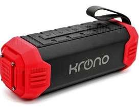Parlante Bluetooth Portátil Krono Sonido 16w Usb Micro Sd