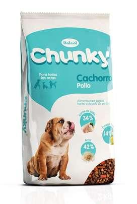 Chunky Cachorro * 4 Kilos