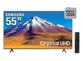 "Smart TV Samsung Cristal 55"" 4K Ultra HD"