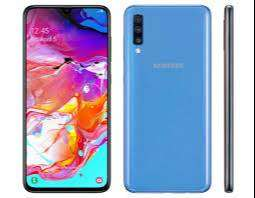 Samsung a 70 blue 10/10