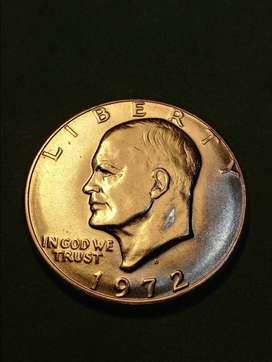 #Moneda EEUU 1 Dollar 1972