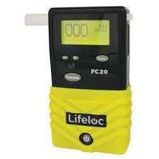 Alcoholimetro profesional LIFELOC FC20