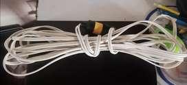 Extensión uso industrial o casero, cable perfecto estado.