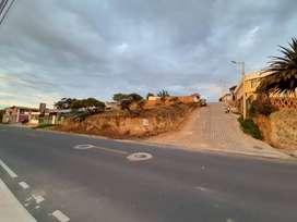 Venta Terreno, sector el Chiche, via Puembo