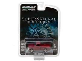 Greenlight 1969 Ford F-100 Pickup Truck Rojo Supernatural