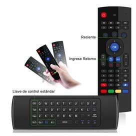 Teclado Air Mouse Inalambrico, Tv Box, Smart Tv Pc Etc