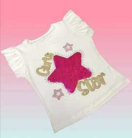 Ropa Niña Camisetas de 1a 11años
