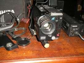 Video Filmadora TOSHIBA ntsc COMPLETA en Funcionamiento