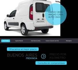 Minifletes para Belgrano,Colegiales y Nuñez.