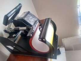 Máquina para sublimar vasos