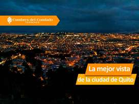 Cumbres del Condado, terrenos en el norte de Quito