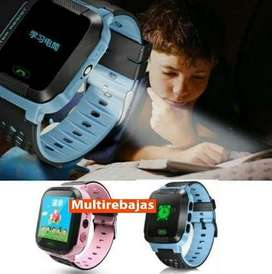 Reloj Smartwatch Niños Rastreo Gps