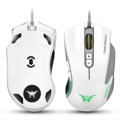 Mouse Gamer Cw-10 Combaterwing Usb Pc Economico 4800 Dpi 7 botones