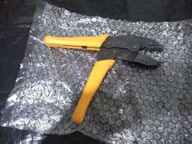 Ponchadora Coaxial