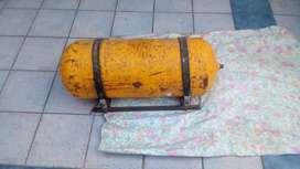 tubo de gnc con regulador