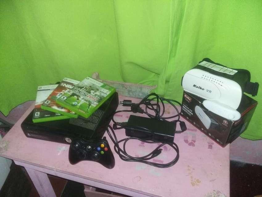Xbox360 Slim Permuto Por Ps3 o Ps4 0