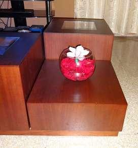 Oferta mesa de centro de Roble usada excelente estado!
