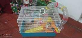 Vendo jaulas para hamster usada