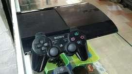 Ps3 Super Slim 500gb Dd 15 Juegos Digita