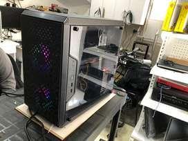 Pc gamer diseño grafico radeon rx580, core i7 4770, ssd 480gb, 1tera 16gb ram, caja y fuente de poder cooler master