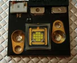 LED, fuente y driver Chauvet 90W