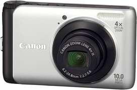 Cámara digital Canon PowerShot A3000 IS 10 Megapixeles LCD 2.7 Zoom 4X