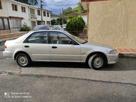 Vendo Honda Civic modelo 1993 placa Popayán