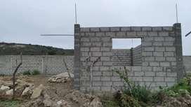 Venta de terreno con piedra ,arena y piedrilla en construccion