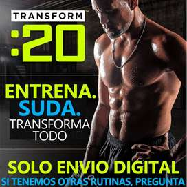 Transform: 20 Rutina 20 Minutos Con Pesas Fitness