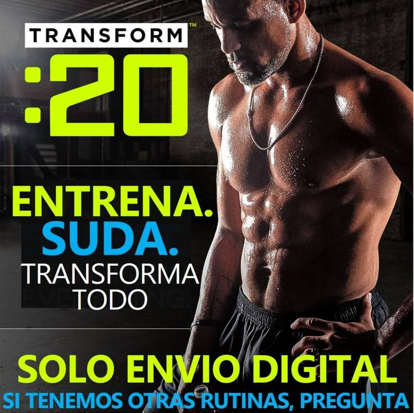 Transform: 20 Rutina 20 Minutos Con Pesas Fitness 0