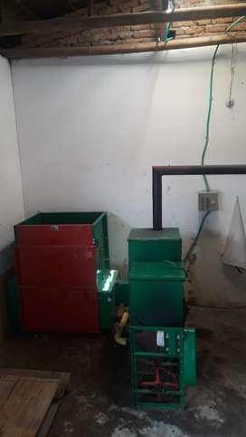 Equipo para el secado de café (silo)