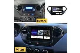 Radio Android Hyundai i10 Pantalla 9 pulgadas Marca Luntuo Wifi YouTube GPS