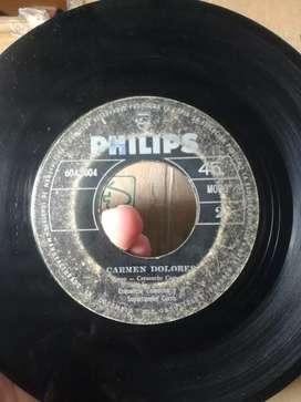 Se vende colección de 45 rpm.cumbias,salsa,gaita,porro