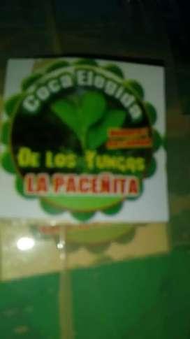Vendo coca elejida