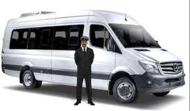 Alquiler de vans con conductor para turismo