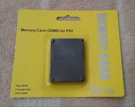 MEMORY CARD 32 MB DE PS2