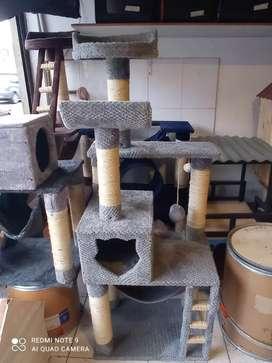 Reparamos toda clase de gimnasios y rascadores para gatos..