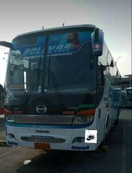 Se vende bus interprovincial listo para trabajar, Hino AK 2017 full